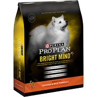 Purina Pro Plan Bright Mind Adult 7+ Chicken & Rice Formula Dry Dog Food, 30-lb bag