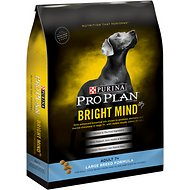 Purina Pro Plan Bright Mind Adult 7+ Large Breed Formula Dry Dog Food, 30-lb bag