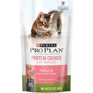 Purina Pro Plan Protein Crunch with Real Shrimp Cat Treats, 2.1-oz bag
