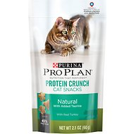 Purina Pro Plan Protein Crunch with Real Turkey Cat Treats, 2.1-oz bag
