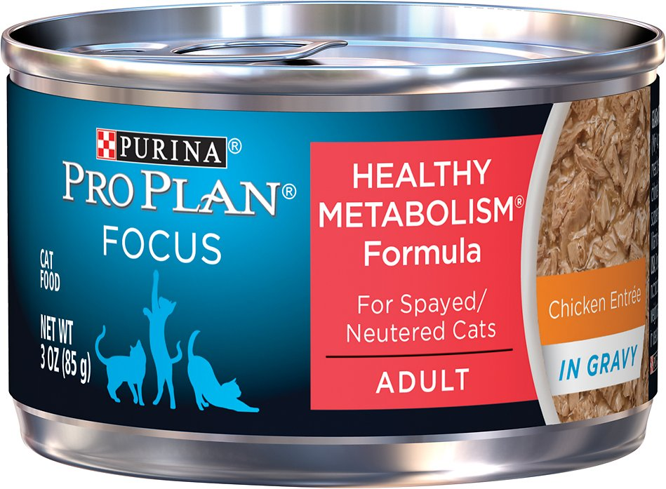 Purina Pro Plan Healthy Metabolism Canned Cat Food