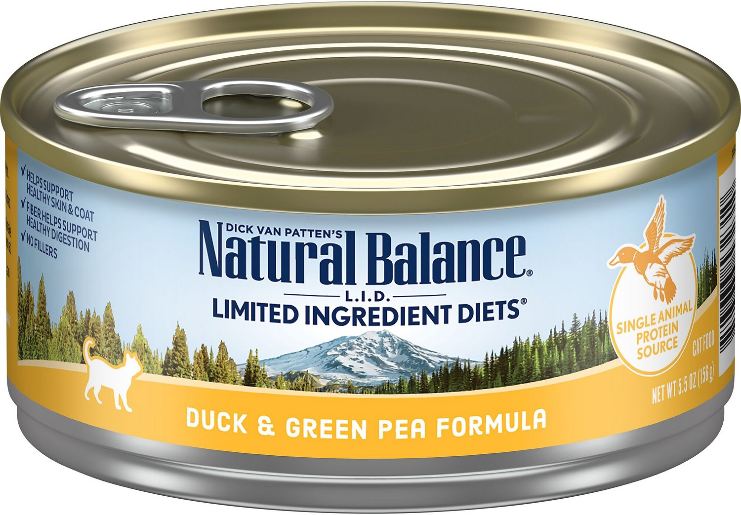 Natural Balance Duck And Green Pea Cat Food Recall