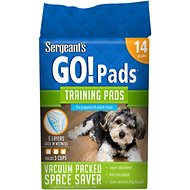 Sergeant's Yippee Skippy Go Doggie Training Pads, 14 count