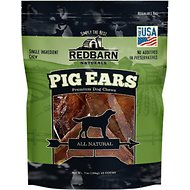 Redbarn Naturals Pig Ears Dog Treats, 10 count