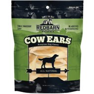 Redbarn Naturals Cow Ears Dog Treats, 10 count