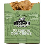 Redbarn Naturals Pig Snouts Dog Treats, 50 count