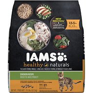 Iams Healthy Naturals Chicken Recipe Adult Dry Cat Food, 13.5-lb bag