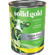 Solid Gold Green Cow Green Beef Tripe in Beef Broth Canned Dog Food, 13.2-oz, case of 12