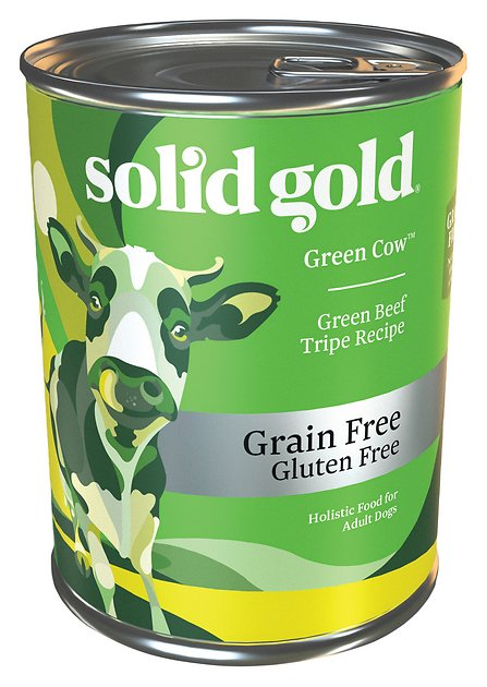 Solid Gold Green Cow Green Beef Tripe In Beef Broth Grain