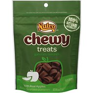 Nutro Chewy Apple Dog Treats, 4-oz bag