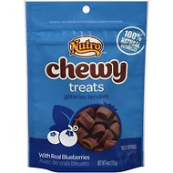 Nutro Chewy Blueberry Dog Treats, 4-oz bag