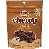 Nutro Chewy Peanut Butter Dog Treats, 4-oz bag