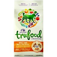 Wellness TruFood Baked Blends Adult Recipe with Chicken, Chicken Liver & Flaxseed Grain-Free Dry Dog Food, 18-lb bag