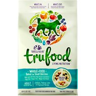 Wellness TruFood Baked Blends Adult Recipe Salmon, Turkey Liver & Flaxseed Grain-Free Dry Dog Food, 3-lb bag