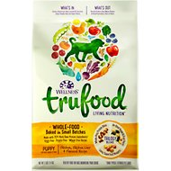Wellness TruFood Baked Blends Puppy Recipe Chicken, Chicken Liver & Flaxseed Grain-Free Dry Dog Food, 3-lb bag