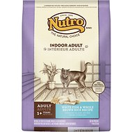 Nutro Indoor Adult White Fish & Whole Brown Rice Recipe Dry Cat Food, 14-lb bag