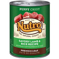 Nutro Puppy Savory Lamb & Rice Recipe Canned Dog Food, 12.5-oz, case of 12