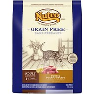 Nutro Grain-Free Adult Duck & Potato Formula Dry Cat Food, 14-lb bag