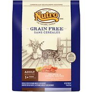 Nutro Grain-Free Adult Salmon & Potato Formula Dry Cat Food, 14-lb bag