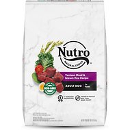Nutro Adult Venison Meal, Whole Brown Rice & Oatmeal Recipe Dry Dog Food, 30-lb bag