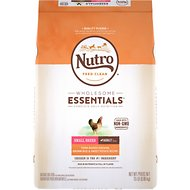 Nutro Small Breed Adult Chicken, Whole Brown Rice & Oatmeal Formula Dry Dog Food, 15-lb bag
