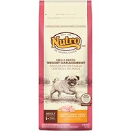Nutro Small Breed Adult Weight Management Chicken, Whole Brown Rice & Oatmeal Recipe Dry Dog Food, 8-lb bag