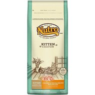 Nutro Kitten Chicken & Whole Brown Rice Recipe Dry Cat Food, 6.5-lb bag
