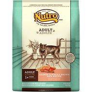 Nutro Wholesome Essentials Adult Salmon & Whole Brown Rice Formula Dry Cat Food, 14-lb bag