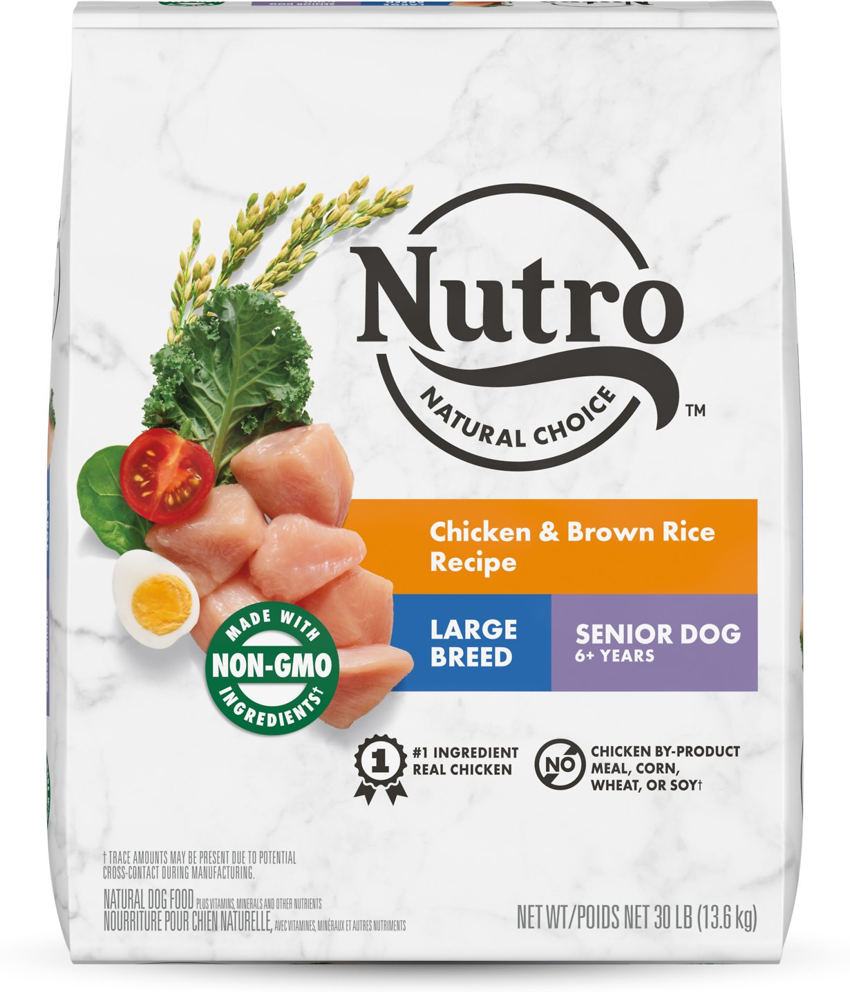 Nutro Large Breed Senior Chicken Whole Brown Rice