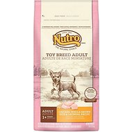 Nutro Toy Breed Adult Chicken, Whole Brown Rice & Oatmeal Recipe Dry Dog Food, 4-lb bag