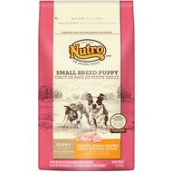 Nutro Small Breed Puppy Chicken, Whole Brown Rice & Oatmeal Formula Dry Dog Food, 8-lb bag