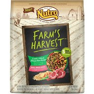 Nutro Farm's Harvest Small Breed Adult Lamb & Whole Brown Rice Recipe Dry Dog Food, 12-lb bag