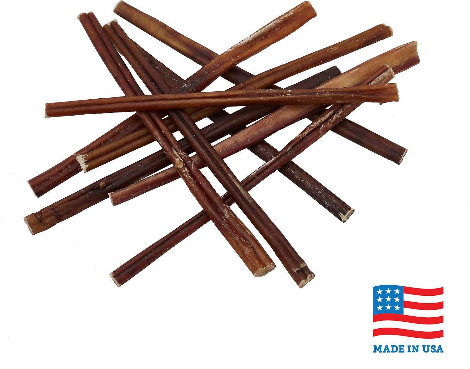 usa bones chews bully stick 12 dog chew treats 10 count. Black Bedroom Furniture Sets. Home Design Ideas
