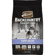 Merrick Backcountry  Raw Infused Puppy Recipe Dry Dog Food, 22-lb bag