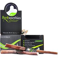 "Barkworthies Odor-Free Select Butchers Cut 12"" Bully Sticks Dog Treats, Case of 25"