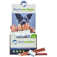 "Barkworthies Odor-Free Standard 6"" Bully Sticks Dog Treats, Case of 75"