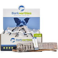 "Barkworthies Beef Esophagus 12"" Dog Treats, Case of 50"