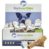 "Barkworthies Beef Trachea 6"" Dog Treats, Case of 30"