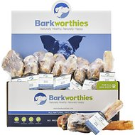 Barkworthies Pork Rose Dog Treats, Case of 35
