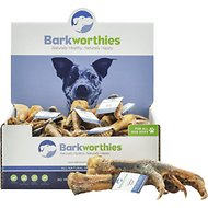 Barkworthies Australian Turkey Feet Dog Treats, Case of 12