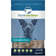 Barkworthies Kangaroo Steak Dog Treats, 8-oz bag
