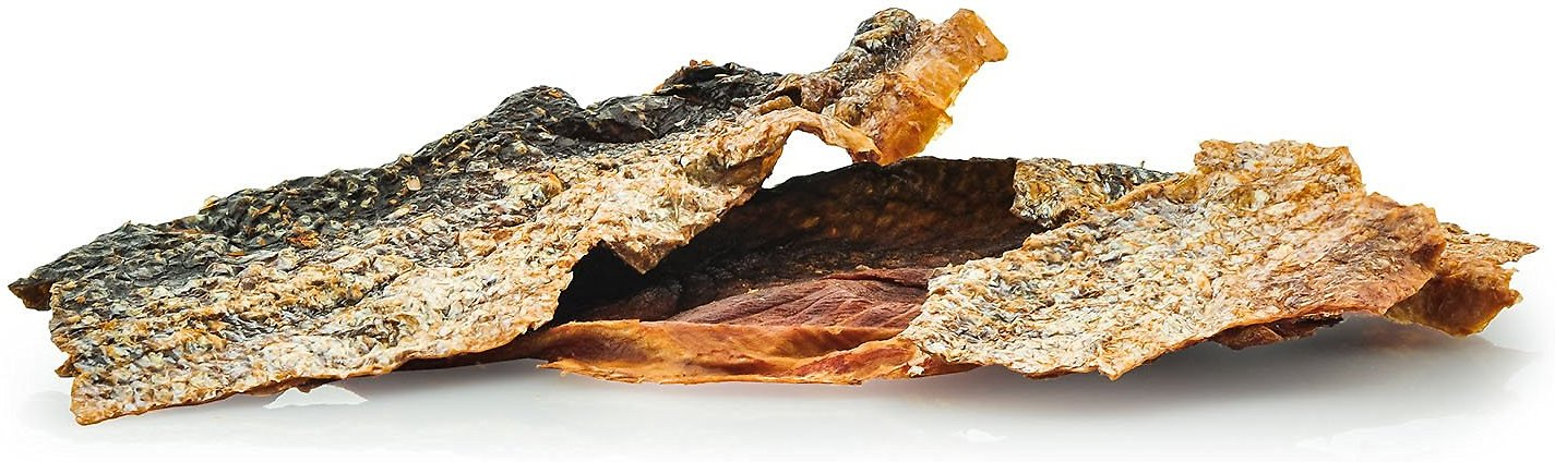 how to cook salmon skin for dogs