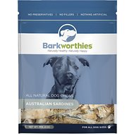 Barkworthies Australian Sardines Dog Treats, 4-oz bag