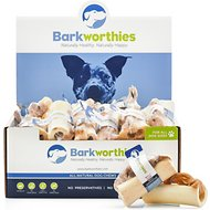 Barkworthies Bully Beef Bone Dog Treats, Case of 36