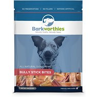 Barkworthies Bully Bites Dog Treats, 12-oz bag