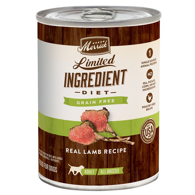 Merrick Limited Ingredient Canned Dog Food
