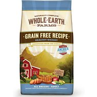 Whole Earth Farms Grain-Free Healthy Weight Dry Dog Food, 12-lb bag