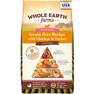 Whole Earth Farms Grain-Free Small Breed Dry Dog Food, 12-lb bag