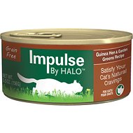 Halo Impulse Guinea Hen & Garden Greens Recipe Grain-Free Canned Cat Food, 5.5-oz, case of 12