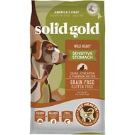 Solid Gold Wild Heart Quail, Chickpeas & Pumpkin Recipe Grain-Free Adult Dry Dog Food, 24-lb bag